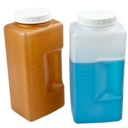 Square Graduated Bottles