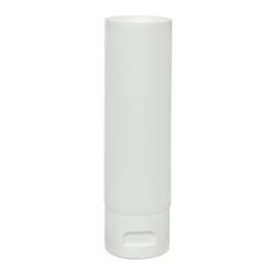 2 oz. White MDPE Lotion Tube with Flip Cap