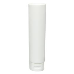 4 oz. White MDPE Lotion Tube with Flip Cap