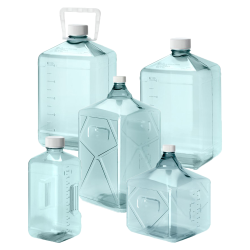 Thermo Scientific™ Nalgene™ Polycarbonate Biotainer™ Bottles with Caps