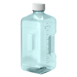 125mL Sterile Square Nalgene™ PC Biotainer™ Bottle