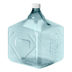 10 Liter Sterile Square Nalgene™ PC Biotainer™ Bottle
