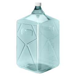20 Liter Sterile Square Nalgene™ PC Biotainer™ Bottle