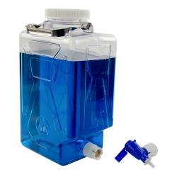 7.6 Liter/2 Gallon Rectangular Nalgene™ Clearboy™ Container with Spigot