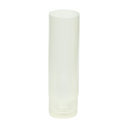 1/2 oz. Natural PP Lotion Tube with Flip Cap