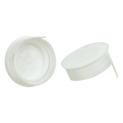 38mm STT White LDPE Tamper Evident Snap On Cap