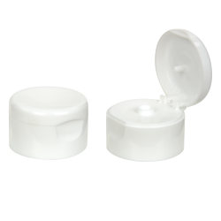 "White PP Dispensing Cap 22/400 Cap Size 1-1/2"" Diameter"