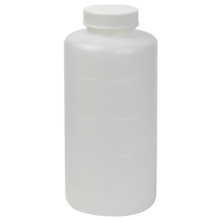 16 oz. HDPE Bottle with Clear TE Band