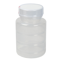 3 oz. Polypropylene Bottle with Clear TE Band