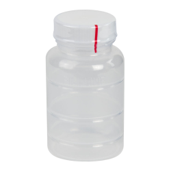 4 oz. Polypropylene Bottle with Clear TE Band