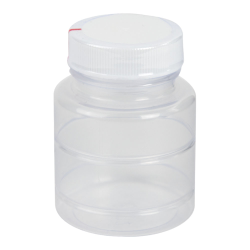 2 oz. ABS Bottle with Clear TE Band