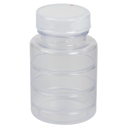 3 oz. ABS Bottle with Clear TE Band