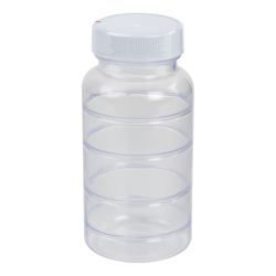 5 oz. ABS Bottle with Clear TE Band