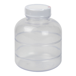 8 oz. ABS Bottle with Clear TE Band