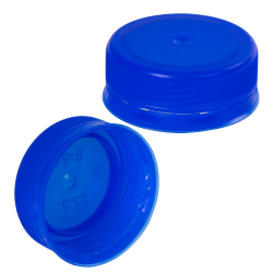 38mm Blue ISS LDPE Tamper Evident Screw Cap