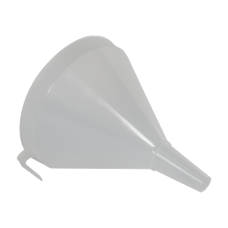 "Scienceware® Drum & Carboy Funnel - 9.8"" Top Dia. x 10.2"" Hgt. x 1.18"" Stem Dia."