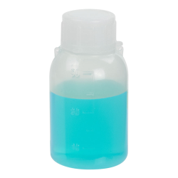 50mL Narrow Mouth Graduated LDPE Bottle with Cap