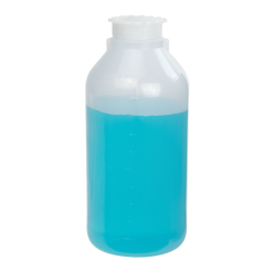 1000mL Narrow Mouth Graduated LDPE Bottle with Cap