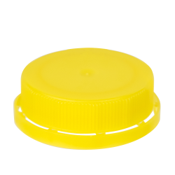 Yellow 38mm Single Thread Cap