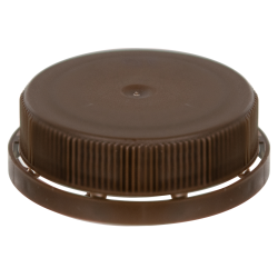 Brown 38mm Single Thread Cap