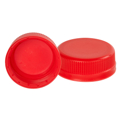38mm SSJ Red LDPE Tamper Evident Screw On Cap