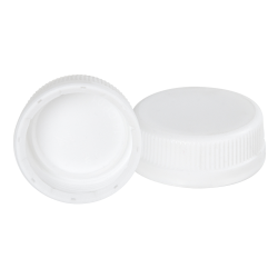 38mm White SSJ LDPE Tamper Evident Screw On Cap