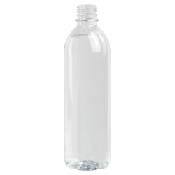 20 oz. Clear PET Smooth Water Bottle with 28mm PCO Neck (Cap Sold Separately)