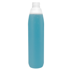 250mL Natural Polaris HDPE Bottle with 24/410 Neck (Cap Sold Separately)