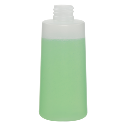 125mL Natural HDPE Flared Tubular Bottle with 20/410 Neck (Cap Sold Separately)