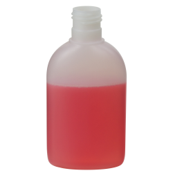 150mL Utopia Oval HDPE Bottle with 24/415 Neck (Cap Sold Separately)