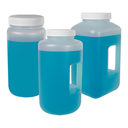 Diamond® RealSeal™ Polypropylene Large Format Bottles with Caps