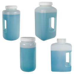 Diamond RealSeal™ HDPE Large Format Bottles with Caps