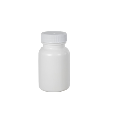 50cc/1.7 oz. White Packer with 33/400 Plain Cap