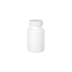 120cc/4 oz. White Packer with 38/400 Plain Cap