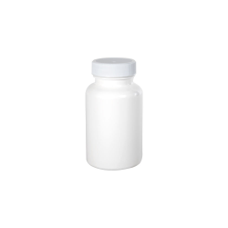 150cc/5.1 oz. White Packer with 38/400 Plain Cap