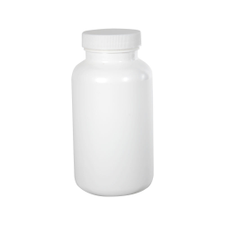 300cc/10.1 oz. White Packer with 45/400 Plain Cap