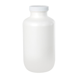 950cc/37.4 oz. White Packer with 53/400 Plain Cap