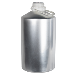 6250mL/211 oz. Aluminum Plus 62 Bottle (Cap & Plug Sold Separately)