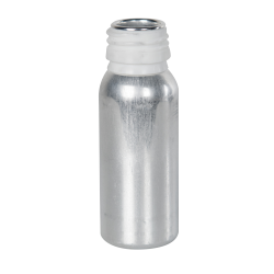 38mL/1.34 oz. Aluminum Type AP28 Bottle (Cap Sold Separately)