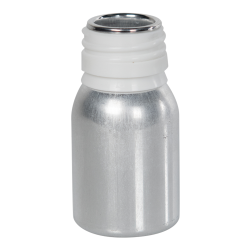 63mL/2.22 oz. Aluminum Type AP28 Bottle (Cap Sold Separately)
