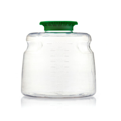 1000mL SECUREgrasp® PETG Sterile Bottles with 45mm Green Caps