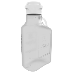 5 Liter Clear EZgrip® PETG Carboy with 83mm Closed Cap