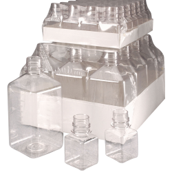 Thermo Scientific™  Nalgene™ Sterile Square PET Media Bottles & Caps