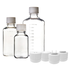EZBio® Sterile Media Bottles with Caps