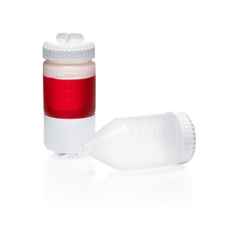175mL Nalgene™ Polystyrene Conical-Bottom Centrifuge Bottles with 58mm Caps