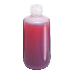 8 oz./250mL Nalgene™ Narrow Mouth LDPE Bottles with 24mm Caps (Sold by Case)
