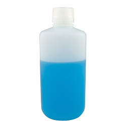8 oz./250mL Nalgene™ Level 5 Fluorinated Bottles with 24mm Caps (Sold by Case)