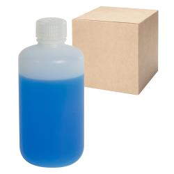 8 oz./250mL Nalgene™ Level 5 Fluorinated Bottles with 24mm Caps - Case of 72
