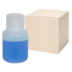 1 oz./30mL Nalgene™ Narrow Mouth IP2 HDPE Shipping Bottles with 20mm Caps - Case of 72