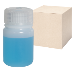 1 oz./30mL Nalgene™ Lab Quality Wide Mouth HDPE Bottles with 28mm Caps - Case of 72